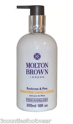 2x Molton Brown Rockrose & Pine Hand Lotion DUO  2X 300 MLS