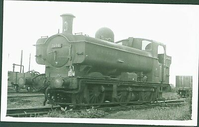 GWR 57xx Class 0-6-0PT No. 3694. Postcard Sized Photograph