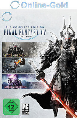 Final Fantasy XIV - Complete Edition - FF14 PC Digital Code Download Key [EU/DE]
