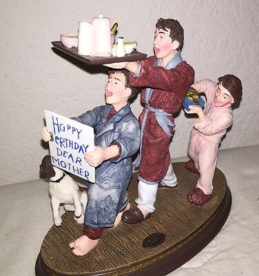 Norman Rockwell Happy Birthday Mother Display