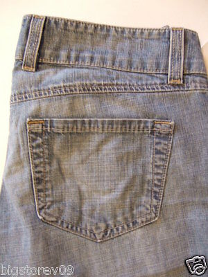 TWENTY ONE 21 Women's Jeans Size-25 Flare Blue 100% Cotton Very Good!