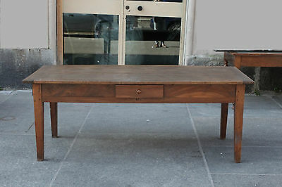 Table Rustic Wood Walnut Period '800 / Tables / Tables Kitchen / Oay