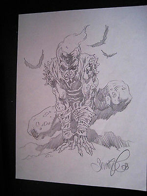 Tim Vigil Original Art Jack the Lantern  Faust