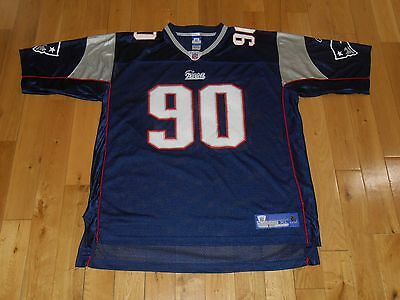 2004 Reebok On Field DAN KLECKO NEW ENGLAND PATRIOTS Mens NFL Team JERSEY  Sz XL 6592a4d1e