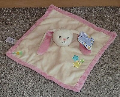 Bnwt Tesco My First Bunny Rabbit  Baby Comforter / Blankie With Love