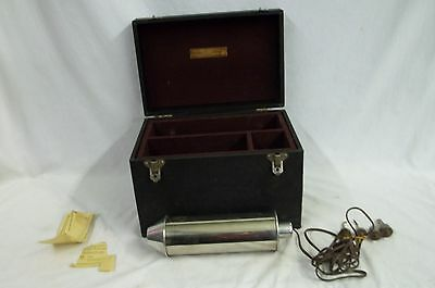 Antique Medical Sweet Universal Current Eye Magnet With Case And Instructions