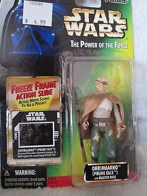 STAR WARS - Action Figure- ORRIMAARKO -The Power Of The Force - NEW - MIB