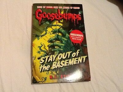 Stay Out of the Basement by R. L. Stine (Paperback, 2015)