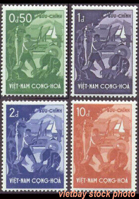 South Vietnam 1958 4th Anniversary of the Government of Ngo Dinh Diem 79-82 MNH