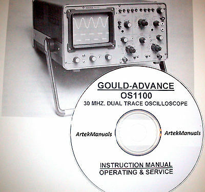 Gould Advance OS1100 30 MHzOscilloscope Instruction Manual (Operating & Service)