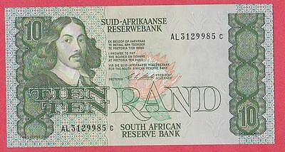 1990/93 South Africa 10 Rand Note Unc