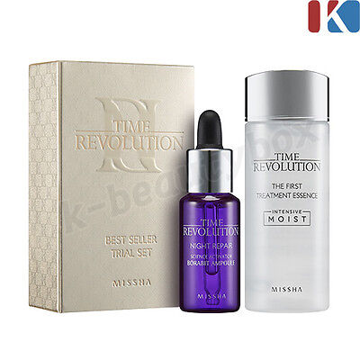 MISSHA Time Revolution SkinCare the first Treatment Essence Night Repair Ampoule