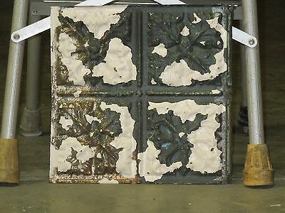 Old Antique ( Metal ) tin ceiling tile tiles 12x12 Cherokee nation headqarters