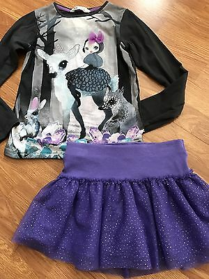 Justice and H&M CUTE!! Girls lot/outfit Size 7-8