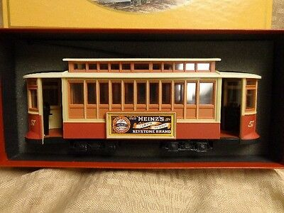 Vintage Hj Heinz Co Trolley Bank Streetcar Gift Advertising Collectible Nib