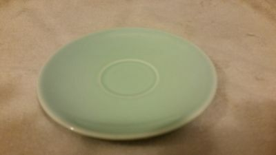 Ts&t Lu-Ray Pastels Pottery Demi Demitasse Saucer 5 In. Green Taylor Smith