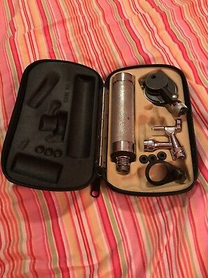 Vintage Welch Allyn Diagnostic Otoscope Ophthalmoscope Diagnostic Set with Case