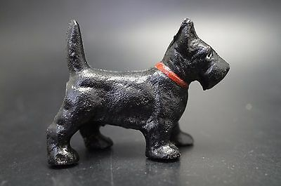 VTG Cast Iron HUBLEY Party Favor SCOTTISH TERRIER Puppy Dog