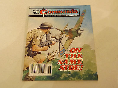 Commando War Comic Number 2586,1992 Issue,v Good For Age,25 Years Old,very Rare.