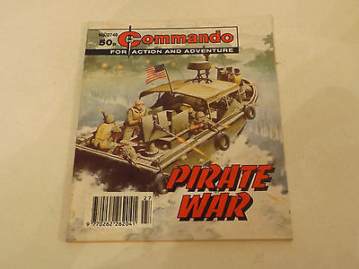 Commando War Comic Number 2749,1994 Issue,v Good For Age,23 Years Old,very Rare.