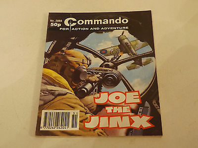 Commando War Comic Number 2869,1995 Issue,v Good For Age,22 Years Old,very Rare.