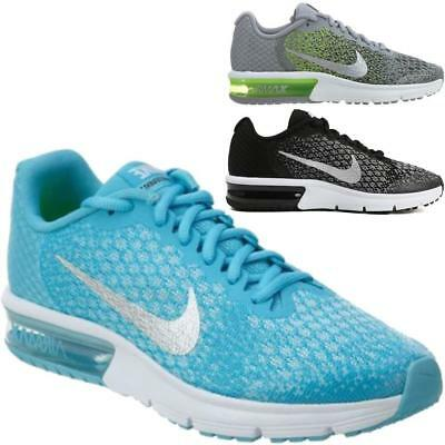 New Boys Girls Kids Nike Air Max Sequent Fitness Athletic Sports Trainers Shoes