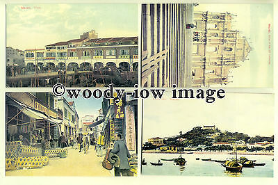 ft1320 - Macao or Macau , Special Administrative Region of China - 8 postcards