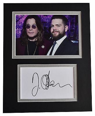 Jack Osbourne Signed Autograph 3x5 Photo Paper Slabbed Bas Beckett 101 Autographs-original