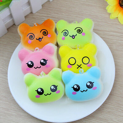 5.5CM Jumbo Colossal Squishy Cream Scented Slow Rising Kids Toys Phone Strap