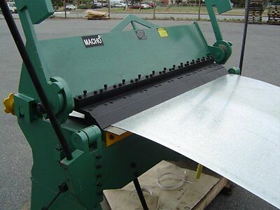 "1220x2.5mm (48""x12G) Heavy Duty Sheet Metal Panbrake Bender & Folder With Stand"