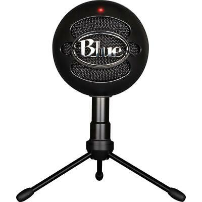 Blue Microphones Snowball iCE USB Condenser Microphone w/Accessory Pack, Black
