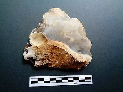 British Flint  Late Paleolithic Cleaver - Look!