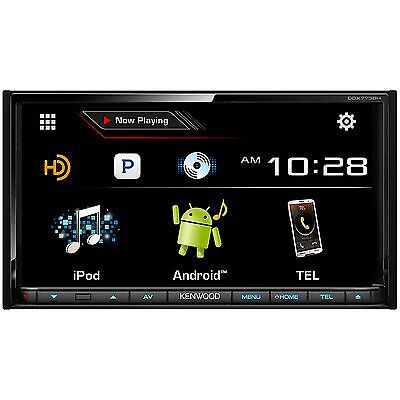 "Kenwood In Dash Double DIN 6.95"" CD DVD Radio Bluetooth Touchscreen Car Receiver"