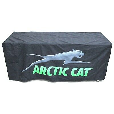 Arctic Cat 6-ft Black & Green Table Cover - Show Display Event Convention Party