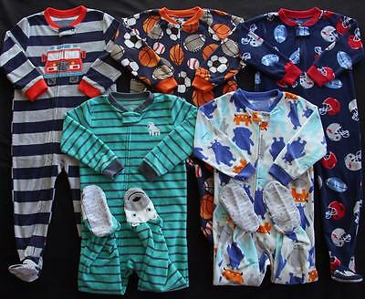 Boy Carter's 3T Footed Sleeper Pajama Clothes Lot Free Shipping