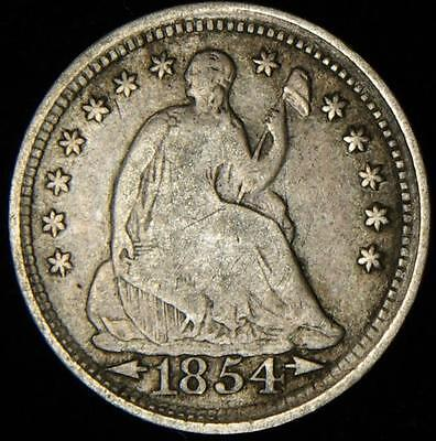 1854 Liberty Seated Half Dime  - Best Value @ CherrypickerCoins - 570
