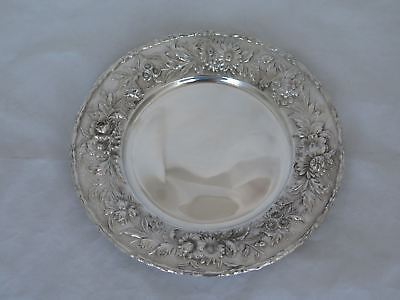 "S. Kirk & Son Inc. Sterling #128 Repousse 6.5"" Plate"