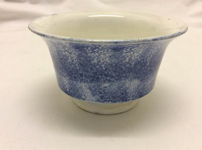 Blue Spatterware Cup