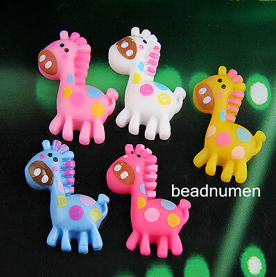 12pcs horsemix color cartoon Resin flatback Scrapbooking For DIY phone /craft