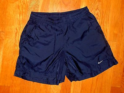 New Womens Nike Lightweight Navy Blue Athletic Shorts Size M (8-10)!