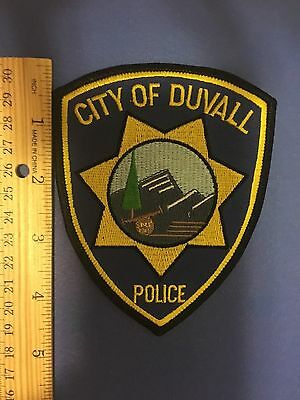 City Of Duvall Washington Police  Shoulder Patch