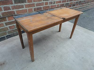 Vintage Esavian Children's Double School Desk (local delivery possible)