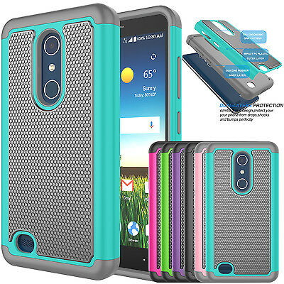 Phone Cover Armor Shockproof Rugged Rubber Hard Case For ZTE Blade X Max / Z983