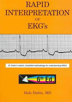 Rapid Interpretation Of Ekg's - Dubin, Dale - New Paperback Book