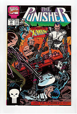 Marvel Comic Books, The Punisher, May 1990 # 33 Vf !!