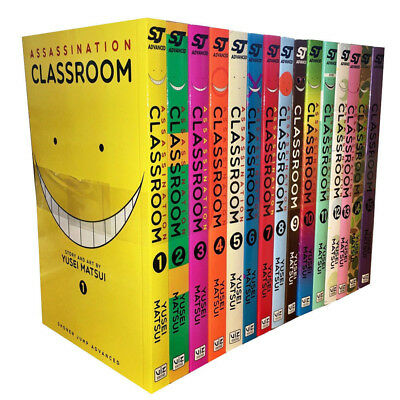 Yusei Matsui Collection 15 Books Set Assassination Classroom Paperback New