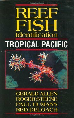 Reef Fish Identification Tropical Pacific by Paul Humann Paperback Book The