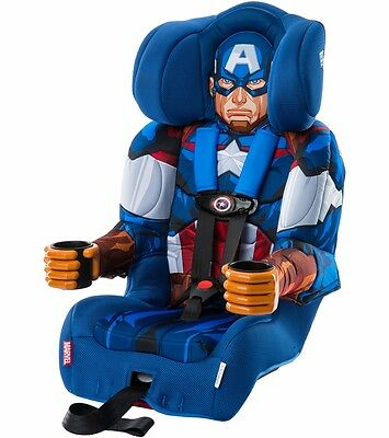 KidsEmbrace Combination Booster Car Seat - Captain America Brand New!! Free Ship