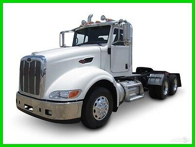 2012 Peterbilt 386 Used Day Cab. Lease Maintained.  Very Clean.  Cummins Engine.