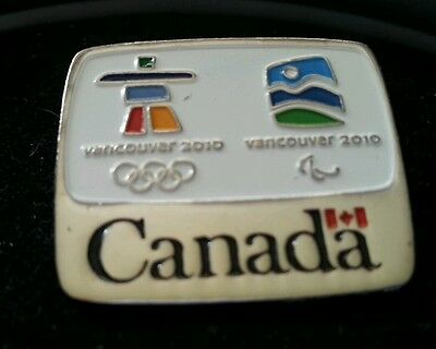 Vancouver 2010 Olympic Government of Canada NOC  pin